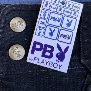Playboy 2007 mini jean skirt